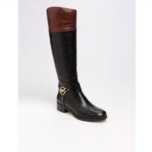 Michael Kors Fulton Harness Riding Boots